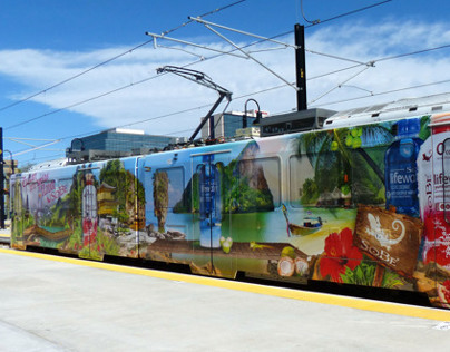 Sobe Train illustration Livery for Pepsi Co.