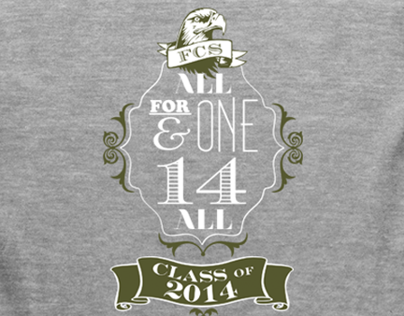 Class of 2014 spirit t-shirt