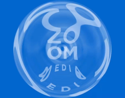 Zoom Media Logo Animation