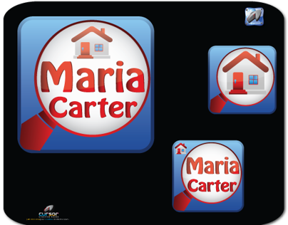 Real Estate - App Icon - Maria Carter