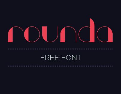 ROUNDA (Free Font)