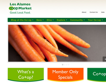 Los Alamos Co+op Website