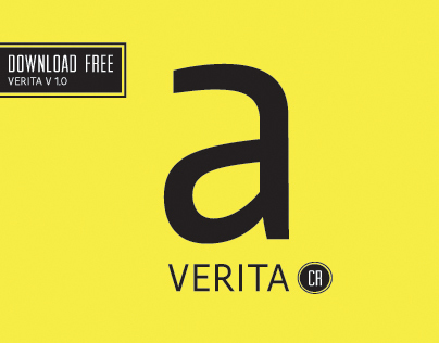 VERITA TYPEFACE / free for designers