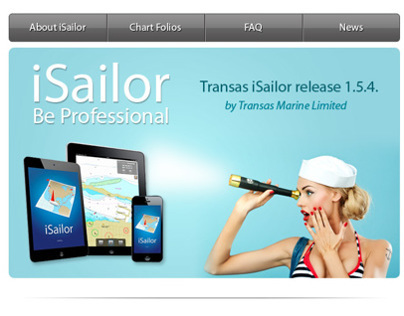 iSailor Email Newsletter Design
