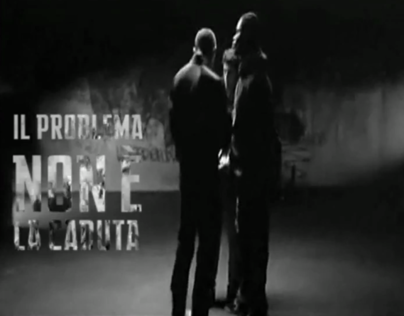 Kinetic typography - La Haine