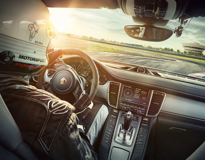 AD CAMPAIGN PORSCHE PANAMERA FOR TBWA PARIS / MICHELIN