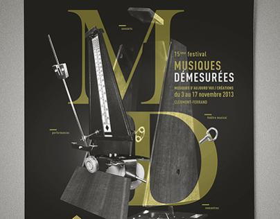 Festival musiques demesurées poster