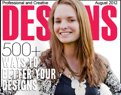 Designs Magazine Cover
