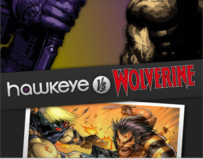 Hawkeye VS Wolverine - Vector Conversion