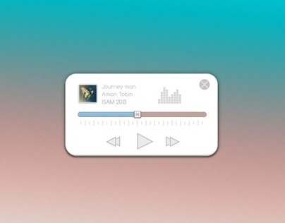 Music Player Slider
