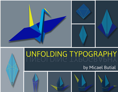» UNFOLDING TYPOGRAPHY