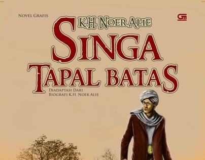 Graphic Novel : K.H. Noer Alie - Singa Tapal Batas