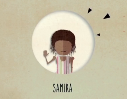 """La storia di Samira""_motion graphic"