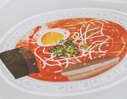 Ramen Illustration–Common Magazine