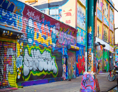 5Pointz Graffiti Art Photography