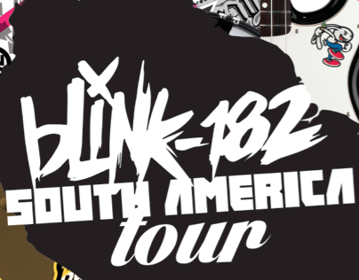 Blink 182 South America Tour