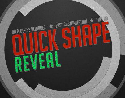 Quick Shape Reveal