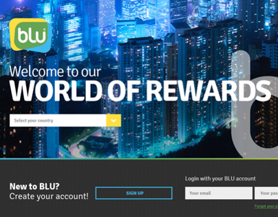 Blu Loyalty Website