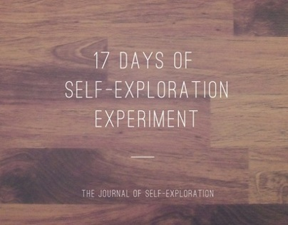 The Journal of Self-Exploration