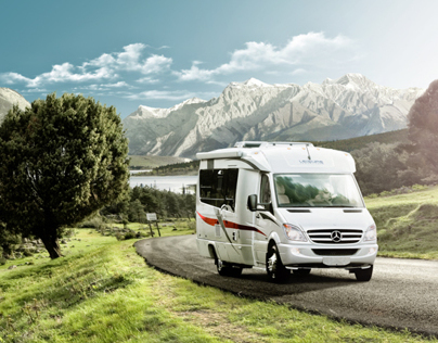 Automotive Retouching - Leisure Travel Vans - Serenity