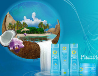 Herbal Essences Latin American WebPage