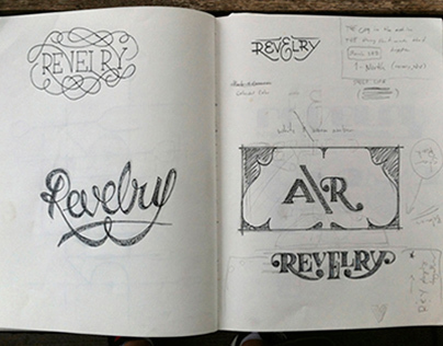 Sketch Book Process For Revelry/Anthem