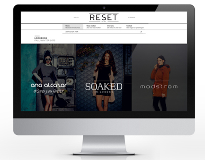 Reset Fashion Webdesign