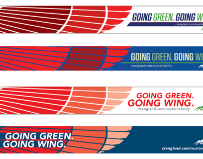 Green Wing - Truck Wing Wraps