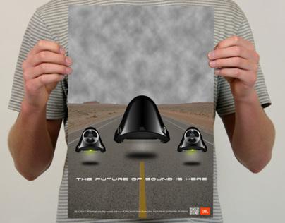 JBL Creature Ad Campaign