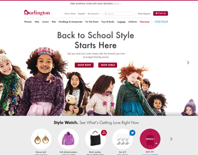 Burlington Coat Factory Redesign