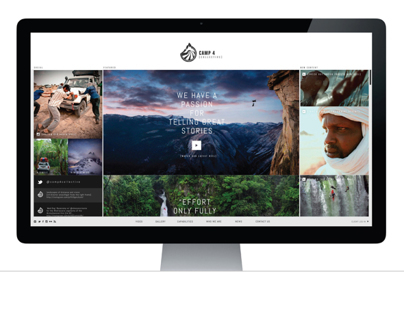 Camp4 Collective - Website & Logo Redesign