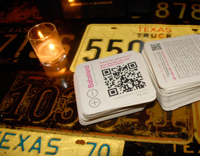 Babeland QR Coasters | engagement strategy
