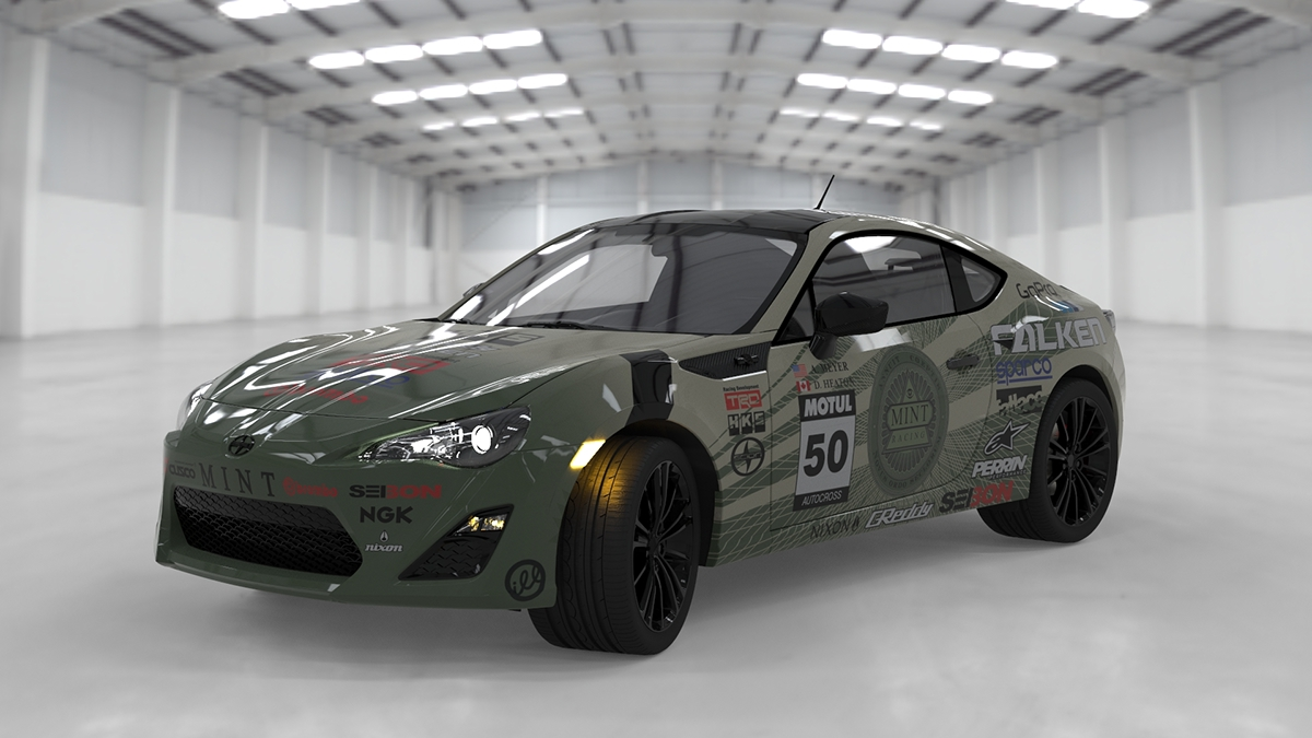 Mint Racing Livery Design