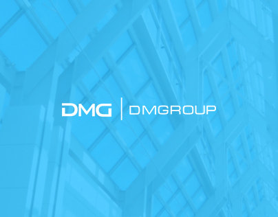 Redesign of the construction website DMGroup