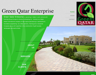 Green Qatar Website