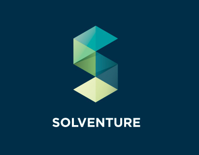 Solventure rebranding web and logo