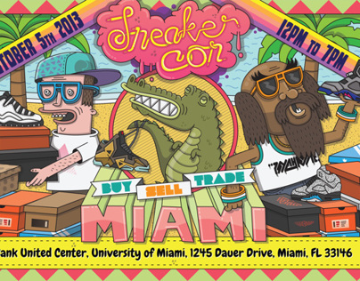 Sneaker Con - Miami, October 5th, 2013