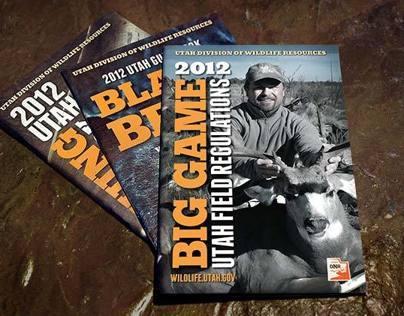 Hunting & fishing guidebooks