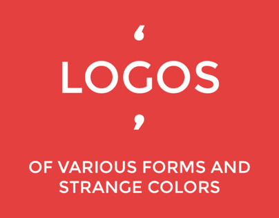 Logos - Of Various Forms And Strange Colors
