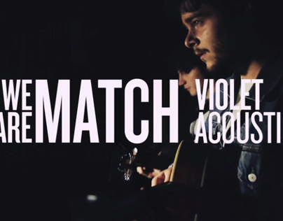 WE ARE MATCH - Violet (Acoustic)
