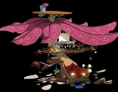 Visual Development :: Hippie Tree House