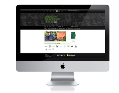 Discover Golf Magento Ecommerce Site Design