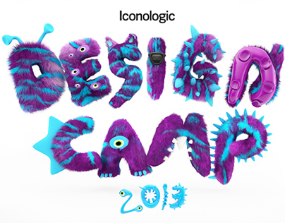 Design Camp 3d logo