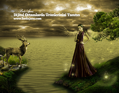 Photo Manipulation, Banner Manipulation, Women Banner