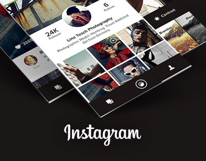 Instagram Revise - A new interaction concept