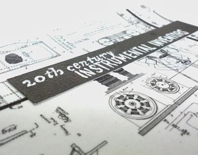 Instrumental Inventors Stamp Series