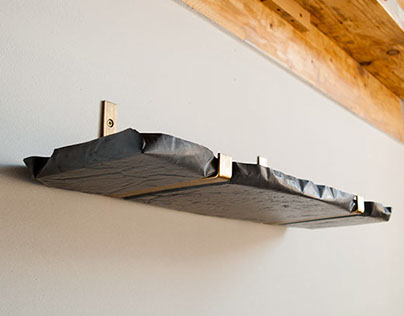 Concretediction - shelf & hanger