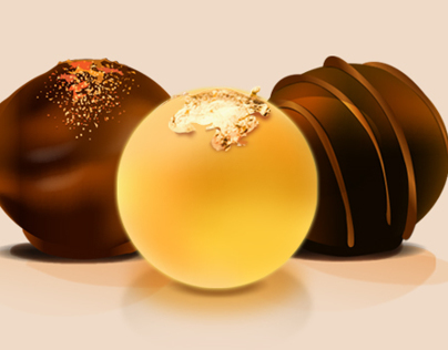 Truffle Chocolate Icons