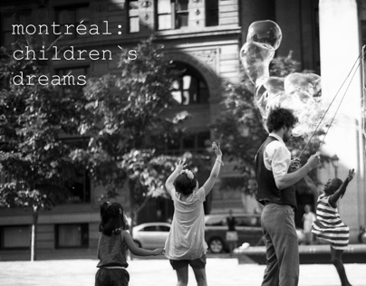 Montréal: Children's dreams