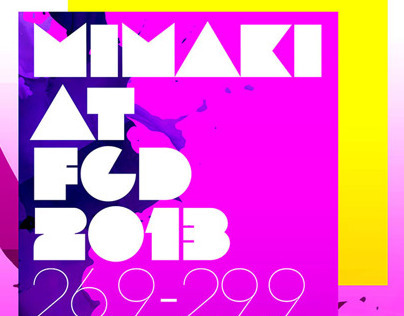 Typography for Mimaki Indonesia 3
